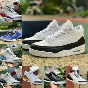 3s Jumpman 3 Knicks Rivals JSP TINKER NERO IN Nike Air Jordan 3 CEMENTO Nrg UNC Blu PE Mocha Air Mens Basketball Shoes Laser Arancione rosso fuoco Frammento Designers