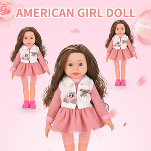 Cute Baby Girl Doll Simulation Baby girl toy Cute Doll Toy Kid Playhouse Toys Kid Girl Birthday Gift