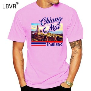 CHIANG MAI THAILAND NEW COTTON GREY TSHIRT Classic Unique Tops T-Shirt