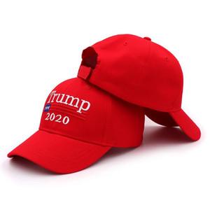 Trump 2020 Бейсболка нас Президентские выборы Hat Make America Great Trump Вышитые президент Открытый Hat Snapback партия HatsZCGY11