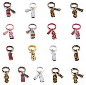 Sanitizer Bottle Fall Neopren Hand Sanitizer Halter Lippenstift Halter Lippen Abdeckung Handtasche Schlüsselanhänger Suncreen Druck Chapstick Halter DHF1348