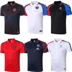 باريس MBAPPE الزخم لعبة البولو لكرة القدم الفانيلة 2020 21 تدريب قميص الأعلى VERRATTI سارابيا T SILVA DI MARIA ماركينيوس الرجال لكرة القدم