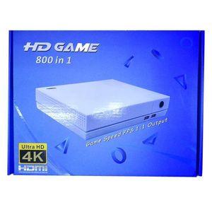 2018 Hdgame Konsolen 4k Tv Video Hdgame Console Unterstützung HDML- TV-Ausgang Shop 800 Spiele für GBA Fc Md Spiele mit Kleinkasten Freies Dhl