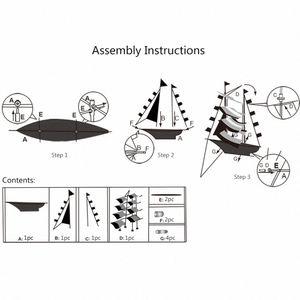 3D Парусник Kite для детей и взрослых Кораблевождение летающих змей со струнными и отрегулирует Открытый Beach Park Фитнес-оборудование Фитнес Sup GLBL #