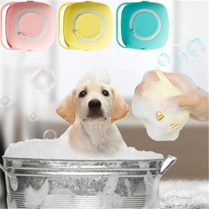 Perro cepillo de baño de champú SPA Masaje para mascotas peine de silicona suave cepillos Gato Ducha depilación herramienta de aseo limpieza Combs Mascotas