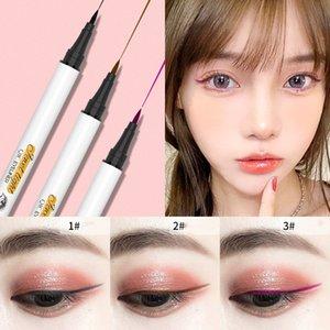 Dropshipping QIC Marke Extreme feinen farbigen Eyeliner wasserdichte Verfassungs-Schönheits-Augen-Liner Bleistift Stift Make-up-Tools