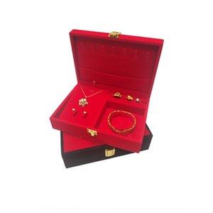 Grande rosso vestito multi-pezzo Big Red multi-pezzo di monili di imballaggio Jewelry Box imballaggio vestito