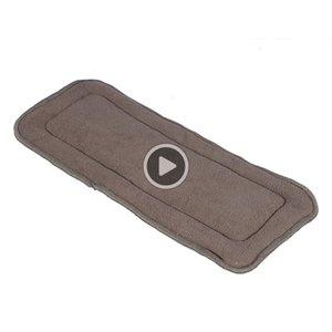 1PCS bambou doublures couches pour bébé Couches Lavables réutilisables lavables Inserts Liners pour de vrai poche en tissu Nappy Pad Adult Plus