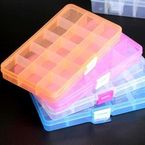 Обзор хранения Съемные Многоцелевой Скидка Пластиковые Организатор с делителем Jewelry Box Off Регулируемые 4шт HPEkt yh_pack