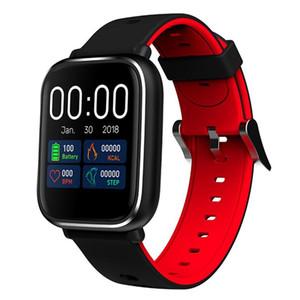 cgjxs inteligentes Muñequera Q58s 1 0.3 pantalla táctil resistente al agua del ritmo cardíaco Presión pulsera Smart Monitor rastreador de ejercicios sangre reloj Smart Watch