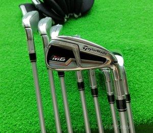 نادي الغولف M6 الحديد وضع SIM مجموعة كاملة من 8 أعمدة مع كم النادي