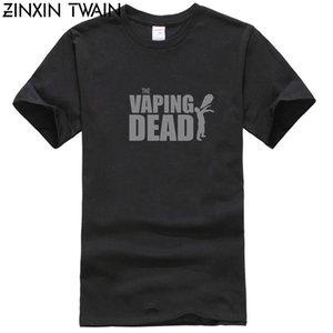 Vaping Mort Zombie Vape vaper Steamer Vaping Ohm T-shirt S-3XL Nouveauté été 100% coton Anti-rides conception de construction shirt