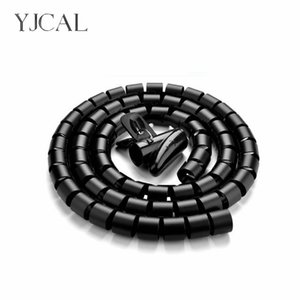 Cable Sleeves Wire Storage Tube Clips Cable Sleeve Organizer Pipe Wrap Cord Protector Flexible Spiral Management Device China