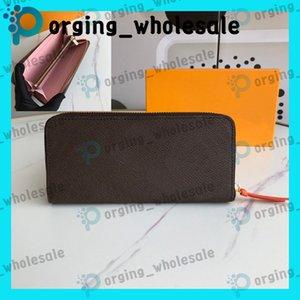 Carteiras Longo Clipe Mens Mulheres Carteira Do Zíper Bag Feminino Carteira De Couro Bolsa De Moda Cartão De Moda Bolso Longo Mulheres Bag Wallets LB01 LB07