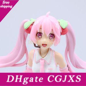تأثيري Miku Hatsune ساكورا العمل PVC الشكل منتديات Vocaloid اليابانية تمثال النادرة نموذج لعب اطفال دمية للحصول على هدايا للأطفال 19CM