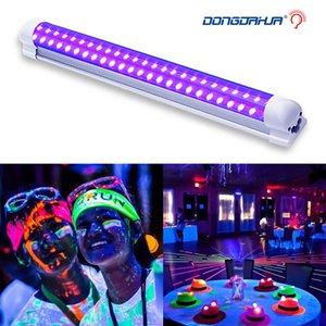 DJ-Disco-Licht 10W-Stadiums-Licht DJ UV Lila LED-Röhre für Partei Weihnachten Bar Lampe Laser-Stadium Wall Washer-Punkt-Licht der Hintergrundbeleuchtung