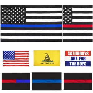 DHL Америка Президентских выборов флаг кампания президента банер 90 * 150см Флаги Blue Line США Флаги Dont Tread On Me Гадсдена Flag