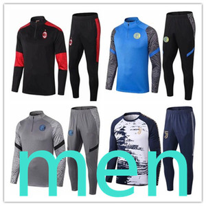Juventus mens designer tracksuits Survêtement chándal jogging training soccer tracksuit football Naples Italy Rome AC Milan Inter Milan Survetement