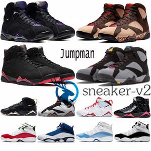 Erkekler 6 Halkalar basketbol ayakkabıları 6s UNC Beyaz Açık Mavi Fury Siber 8s 7'ler altın anlar siyah patentli Bayan Spor Eğitmenler Spor ayakkabılar
