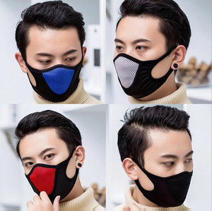 In Stock DHL Shipping Protective Face Mask Adult Dustproof Cover Masques Full Reusable Masks Anti Dust Respirator Free Ship Elastic Popular