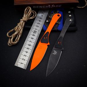 benchmade bm15200 15200 lame fixe défense auto droite tactiques de pliage couteaux de chasse couteau de camping couteau de poche edc a3088