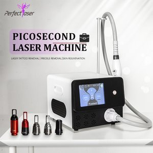 Q switch laser tattoo removal machine nd yag Laser pigmentation removal picosecond equipment DHL free shipping