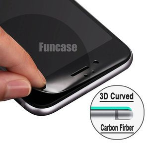 3D Curved Carbon Fiber Full Protective Tempered Glass Screen Protector Flim Guard For iPhone 12 Mini 11 Pro Max XS XR X 8 7 6 6S Plus SE