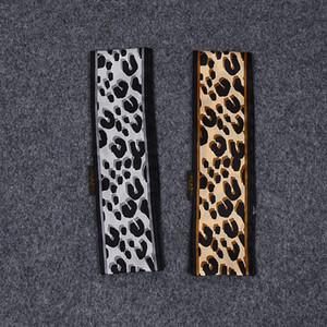НОВИНКИ леопардовый шарф повязка 47,2 В Ультра Длина 100% шелк ручки шарф Малый Ribbon женщина волос сумка моды Hot