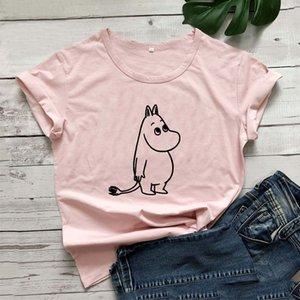 Cartoon Kawaii Graphic T Shirt Women Summer Short Sleeve Tshirt Women Cotton White Camiseta Mujer Casual Tee Shirt Femme T-shirt