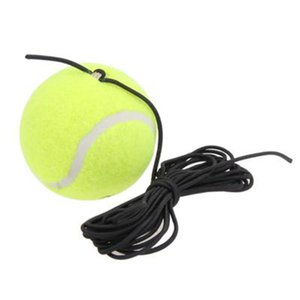 Drill Trainer Single Package Tennis With String Replacement Rubber Woolen Training Ball