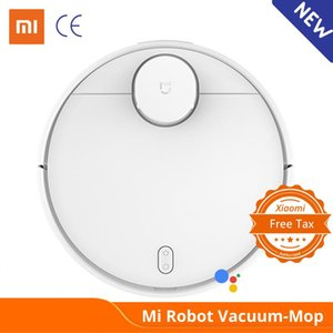Xiaomi Mi robô aspirador de pó Mop Pro Sweep and Drag 3 Modo LDS laser de navegação 2100Pa cuidados de piso de madeira