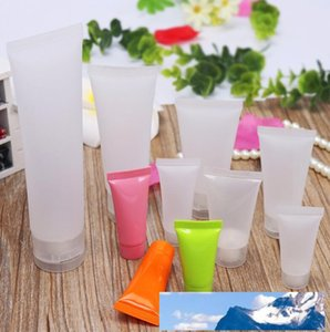 50ml Screw Cap Flip Cap Cosmetic Soft Tube plastic Lotion Containers Empty Makeup Squeeze Tube Refilable Bottles Emulsion Cream Package 50g