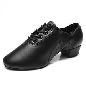 Yeni Stil Erkek Latin Dans Man Boy Çocuk Caz Dans Spor Ayakkabılar için Modern Ballroom Tango Man Latin Dans Shoes