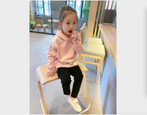 2020 New Autumn Winter Coat Toddler Baby Kids Girls Clothes Hooded baby girl Hoodie floral Sweatshirt Tops Clothes