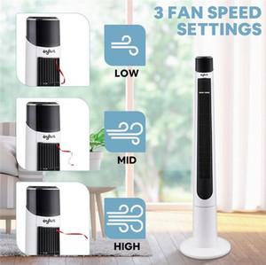 Torre ventilador oscilante con control remoto para Ministerio del ventilador deshojado torre de ventilador de refrigeración 3 Timing 3 modos de velocidad del viento del refrigerador de aire W35413485