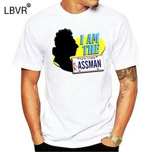 Ass Man Футболка Сейнфельд Cozmo Kramer Ретро Ностальгический Tv Show Graphic Tee Прохладный Повседневная Pride T Shirt Men Мужская мода