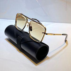 원래 케이스 상자 가방 최고 품질의 선글라스 (400 개) 렌즈 티타늄 남성 여성 선글라스 빈티지 패션 인기있는 스타일 사각형 프레임 UV