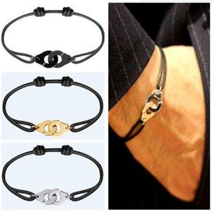 Франция Известные ювелирные изделия Динь Ван Браслет для женщин Мода ювелирные изделия стерлингового серебра 925 Rope Handcuff Браслет Menottes