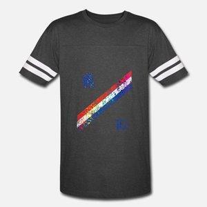 Holanda Jersey Shirt Splatter da pintura da camisa do futebol t homens criam tripulação manga curta Neck senhores shirt gráfico Edifício verão Único