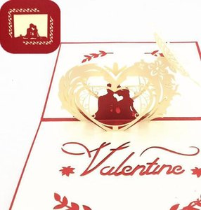 3d Decoration Gift Party With Card Up Card Valentine's Wedding Day Creative Pop Envelope Greeting Blessing home2001 veWgs