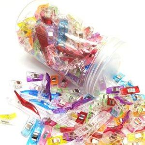 120pcs Plastikclips für das Nähen DIY, Quilting Clips, Klee Clips, Wonder Clip, 2,5 cm Schellen Bindung