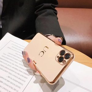 Designer Téléphone Case de luxe pour iPhone téléphone cellulaire cas Marque lettre imprimée 11 Pro Max X XS MAX 7 8 PLUS SE 6 6S 20062201CE