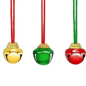 Рождественские Колокольчики Рождественская елка висячие с Xmas Jingle Bells Metal Hollowed Xmas Tree Декоративные висячие украшения Decorat GWF1998