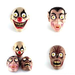 0CI7u Terrorist Grimasse Rotten Corpse Latex Geistermaske Hallowmas Spielzeug-Spiel Trick Maske Karnevals-Party lustige Show Maske für Halloween Prop