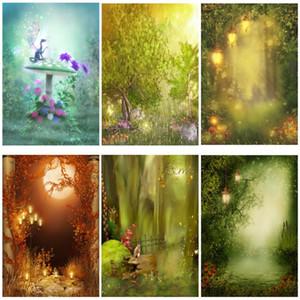 Yeele Fairy Spring Dream wonder Magic Forest Fotografie Kulissen Personalisierte Fotohintergründe Für Fotostudio