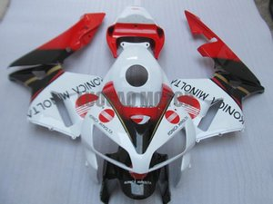 Injection Fairings kit + Geschenke für HONDA CBR600RR F5 2003 2004 2005 2006 CBR600RR F5 03 04 05 06 Körperabdeckung + Windschutzscheibe #white RED # K49JF
