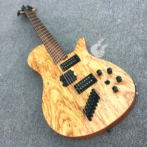 Custom electric guitar 5 string bass with color logo and shape can be customized