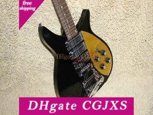 Custom Black 325 330 Gitarre Goldfarbener Schlagbrett 325 330 Gewohnheit 3 Aufnahmen-elektrische Gitarren-freies Verschiffen