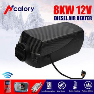 HCalory 12V 8KW Diesel Luft-Auto-Heizung 15L Tank Car LKW-Boot Wohnmobil Parkplatz mit Fernbedienung LCD-Monitor