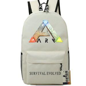 ARK zaino di sopravvivenza Evolved zainetto un sacchetto di scuola Satchel distintivo di stampa zainetto gioco zaino giorno Pack Outdoor